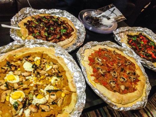 southeast asian pizzas