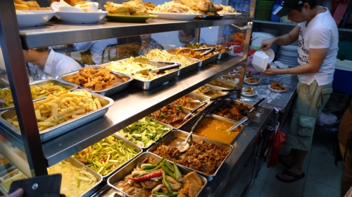 When ordering cai png, never forget the gravy or curry.