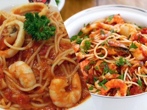Pastamania's marinara vs. some other country's marinara